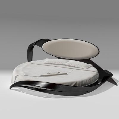Круглая кровать №1