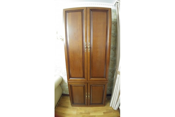 4 дв. шкаф орех №4628