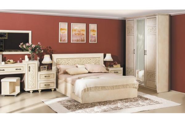 Спальня Александрия Кожа Ленто-2