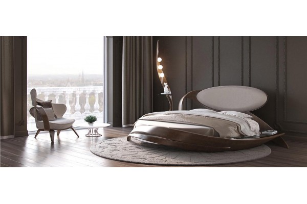 Круглая кровать №7