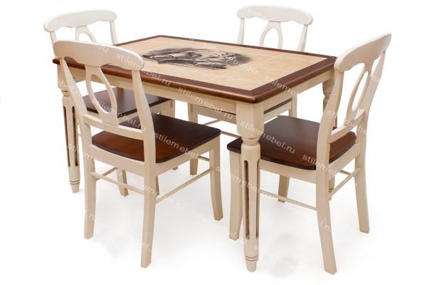 Стол с плиткой 16541